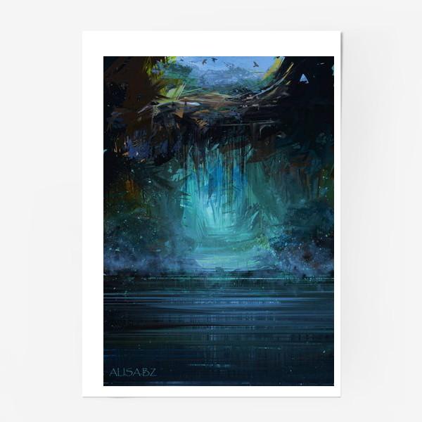 Постер «Где-то под землёй»