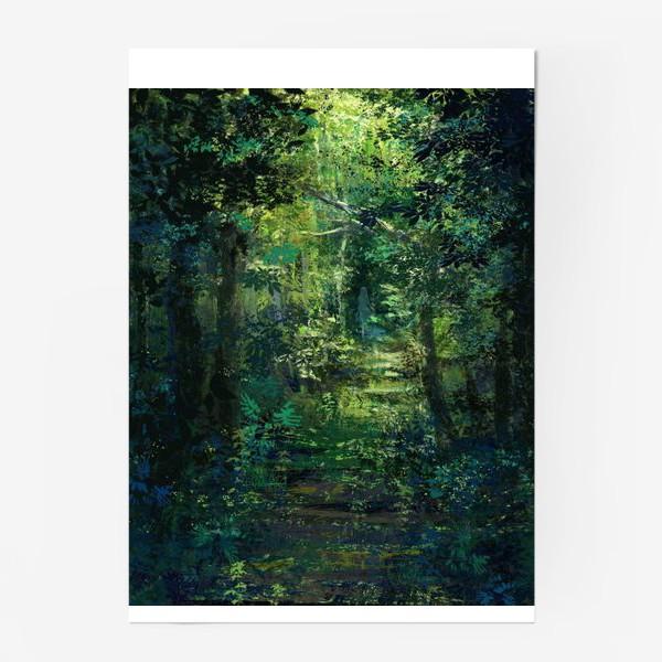 Постер «Чем дальше в лес»