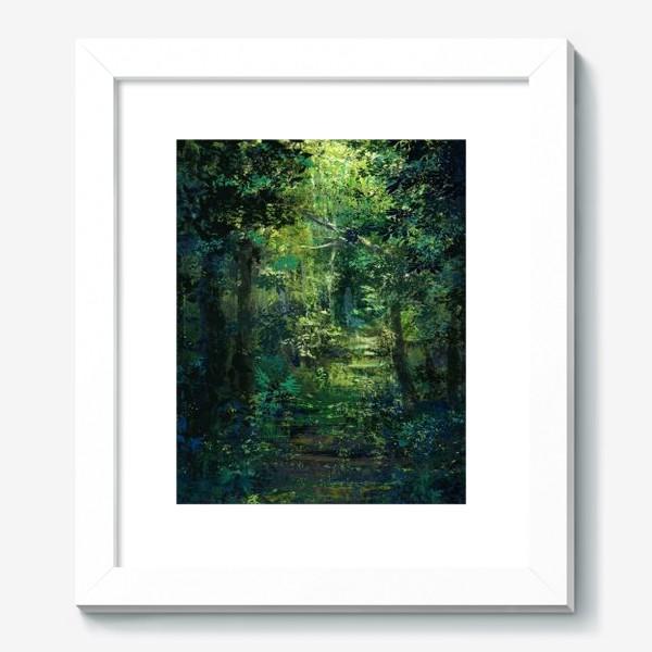 Картина «Чем дальше в лес»