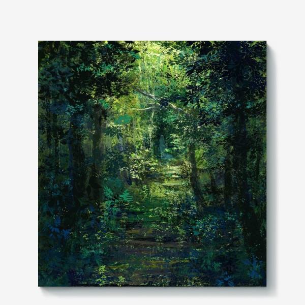 Холст «Чем дальше в лес»