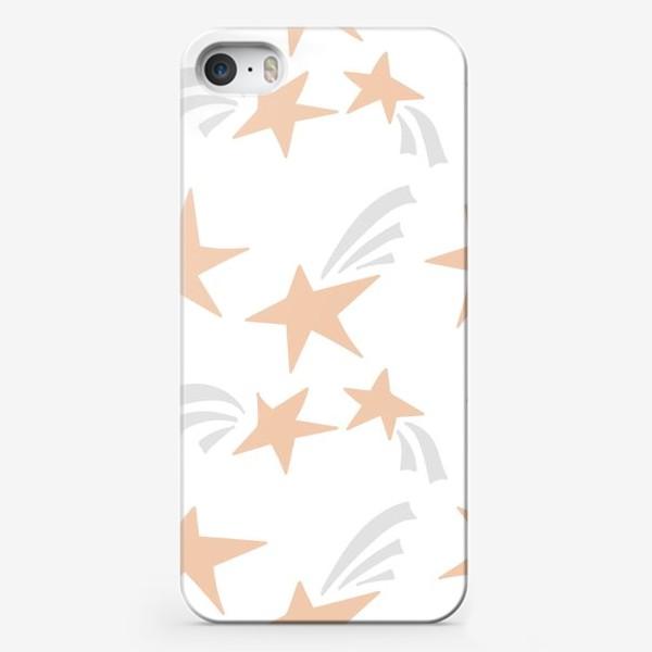 Чехол iPhone «Stars Pink»