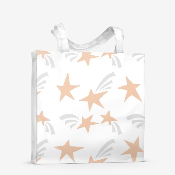 Сумка-шоппер «Stars Pink»