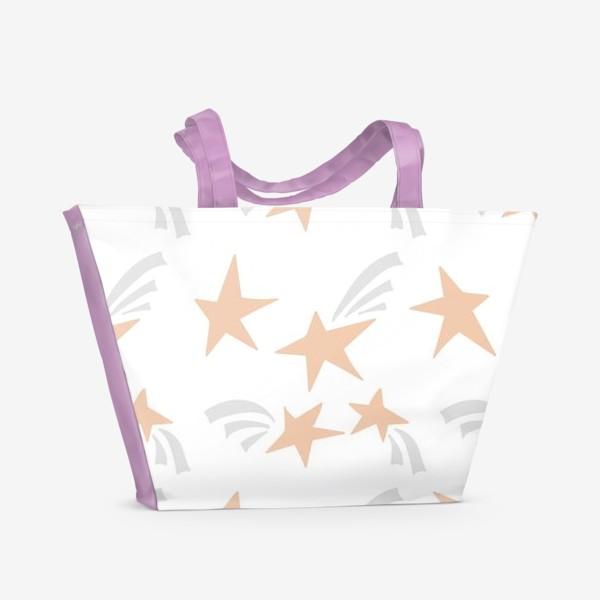 Пляжная сумка «Stars Pink»