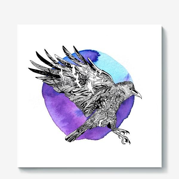 Холст «Ворон»