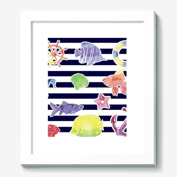Картина «В мире морском»