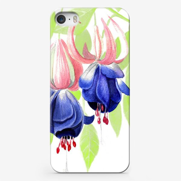Чехол iPhone «Комнатные цветы»