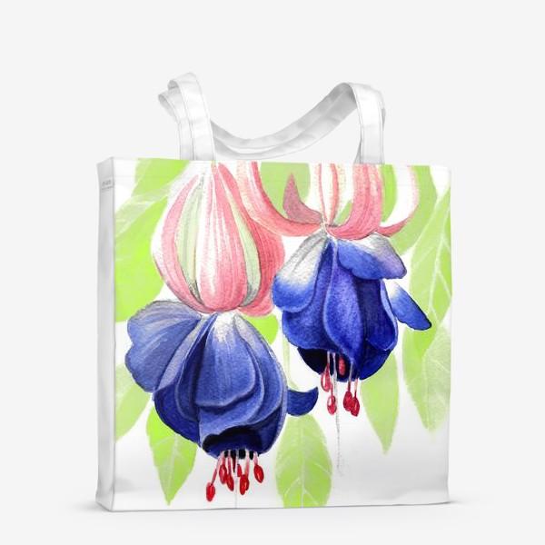 Сумка-шоппер «Комнатные цветы»