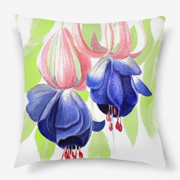 Подушка «Комнатные цветы»