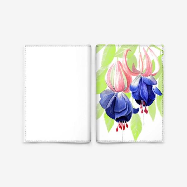 Обложка для паспорта «Комнатные цветы»