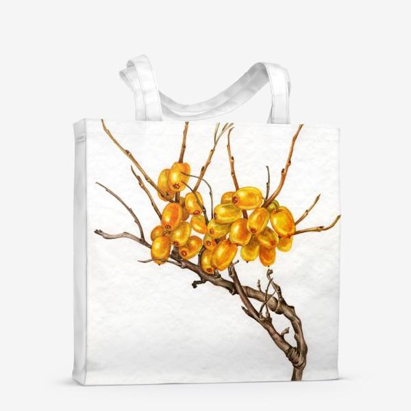 Сумка-шоппер «Осенние ягоды»