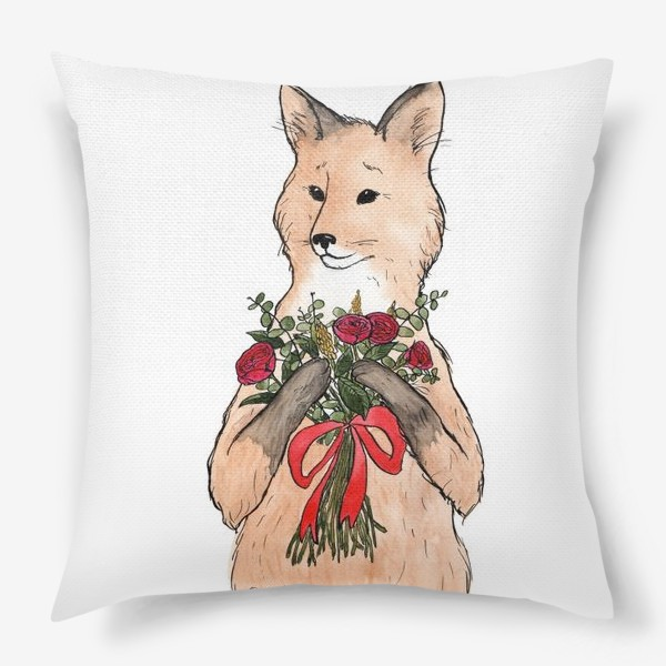 Подушка «Лиса»