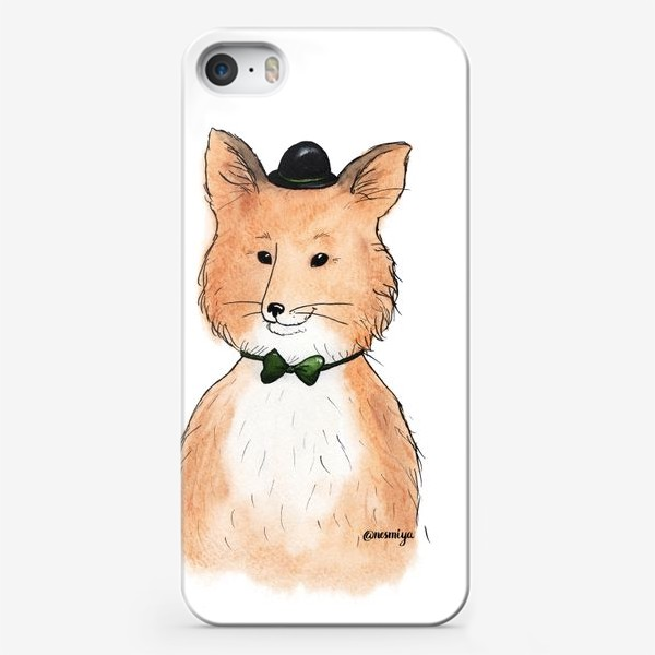 Чехол iPhone «Лис»