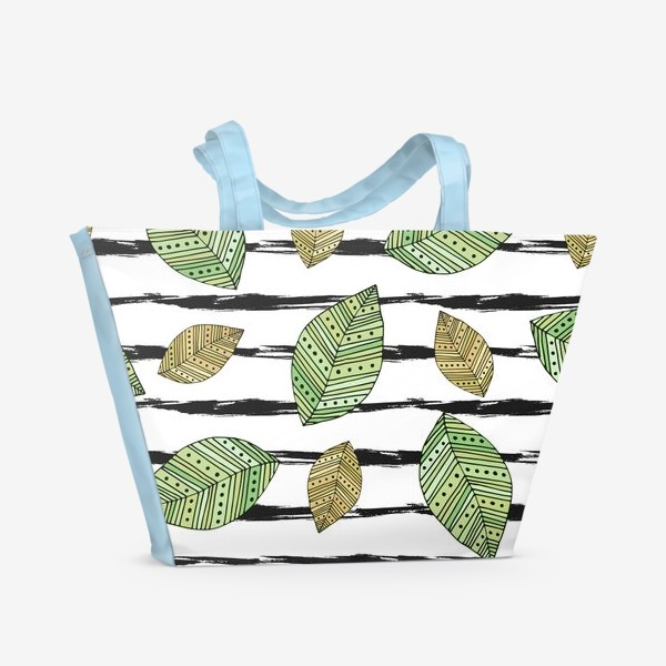Пляжная сумка «Осень времени»