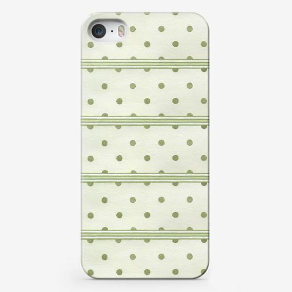 Чехол iPhone «Прованс. Зеленый горошек»