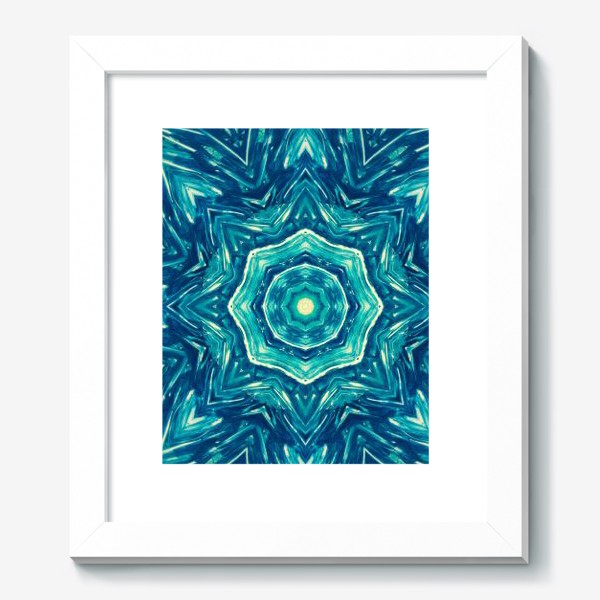 Картина «Watercolor Art Mandala»