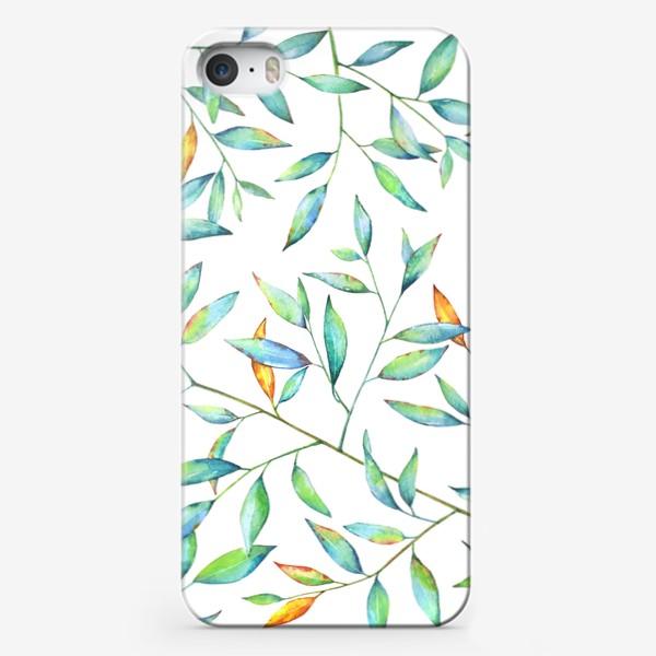 Чехол iPhone «Весенняя листва»