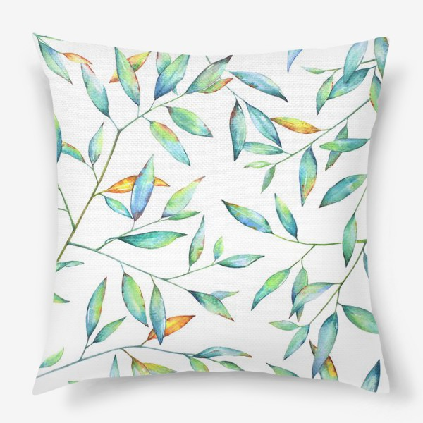 Подушка «Весенняя листва»