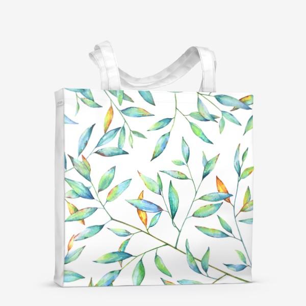 Сумка-шоппер «Весенняя листва»