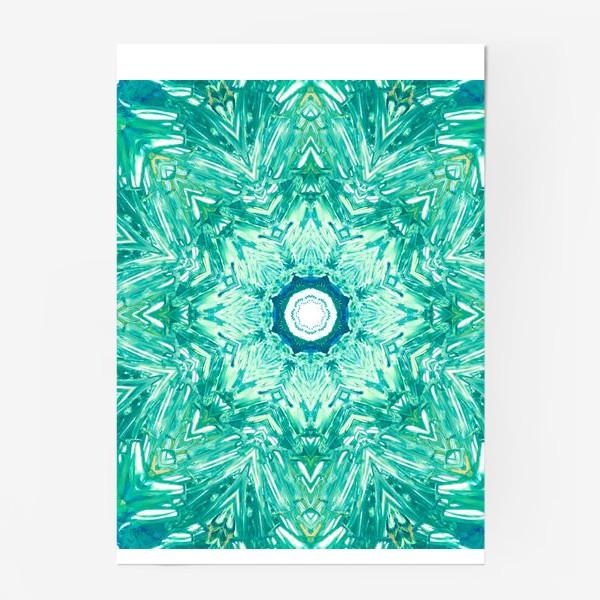 Постер «Sea Art Mandala»