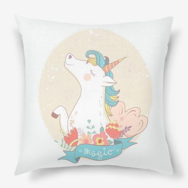 Подушка «Единорог»