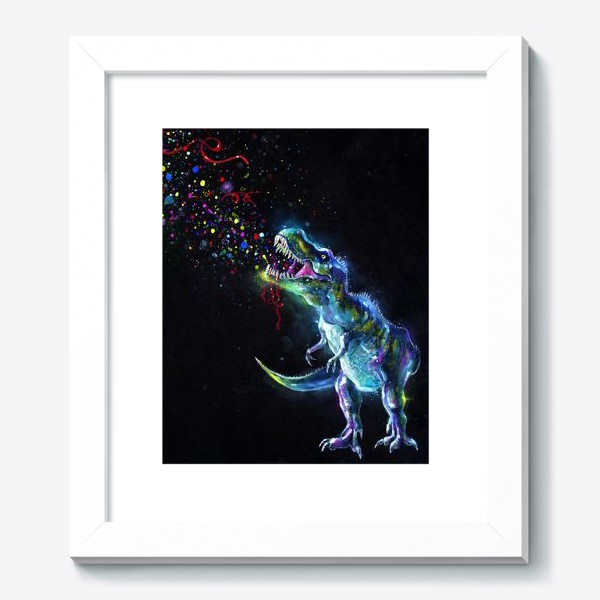 Картина «Crystal T-Rex in Space»