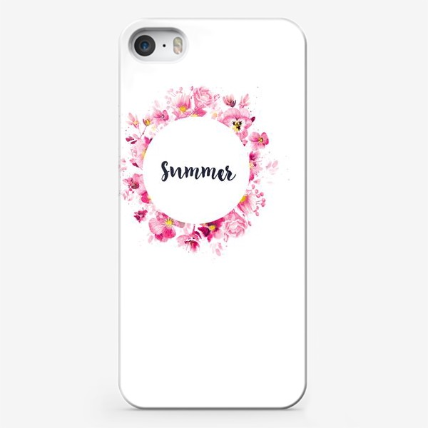 Чехол iPhone «Summer print»