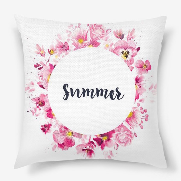 Подушка «Summer print»