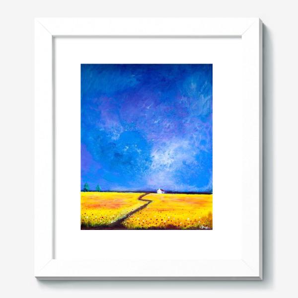 Картина «Маки перед дождем»