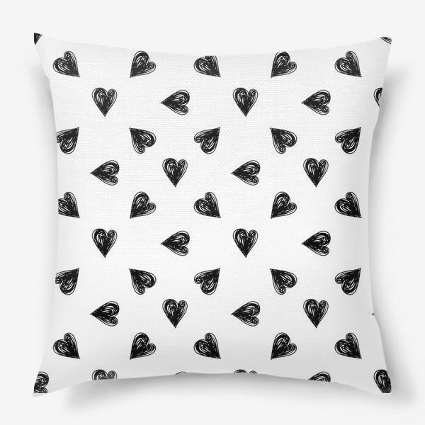 Подушка «Сердечки»