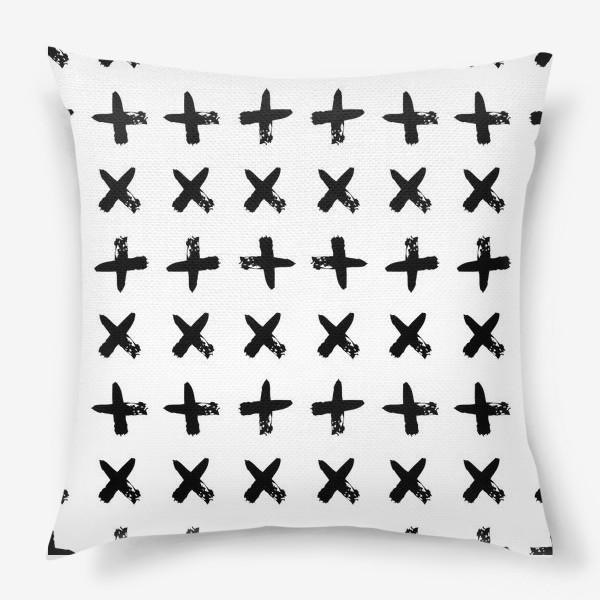 Подушка «Крестики»