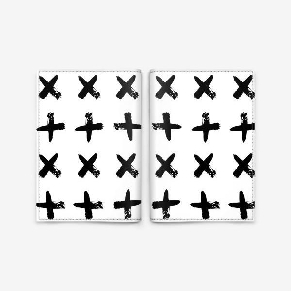Обложка для паспорта «Крестики»