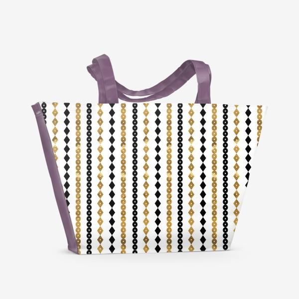 Пляжная сумка «Этно мотивы»