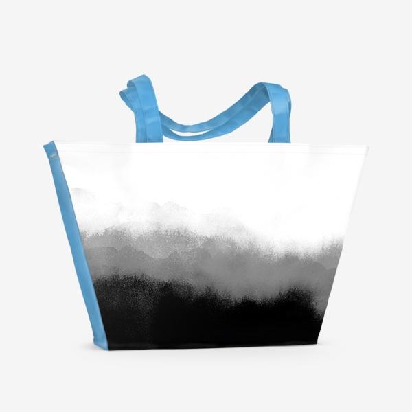 Пляжная сумка «Акварельные фантазии»