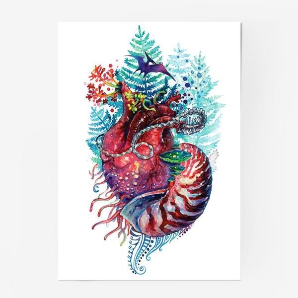 Постер «Ancient Heart - Древнее Сердце»