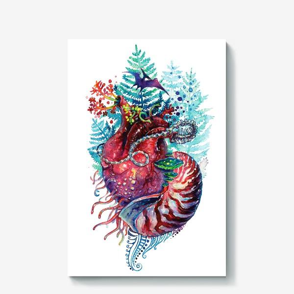 Холст «Ancient Heart - Древнее Сердце»