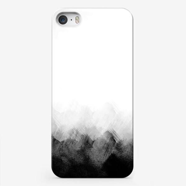 Чехол iPhone «Акварельный монохром»