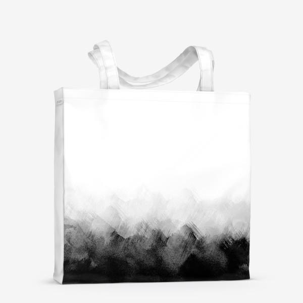 Сумка-шоппер «Акварельный монохром»