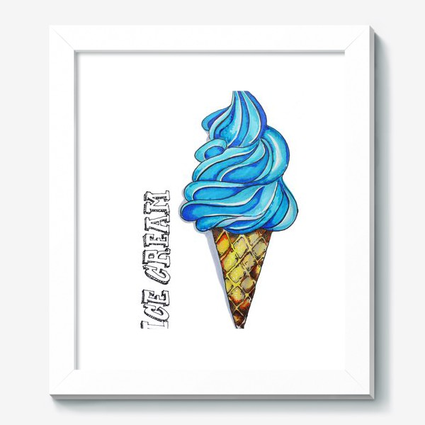 Картина «мороженое»