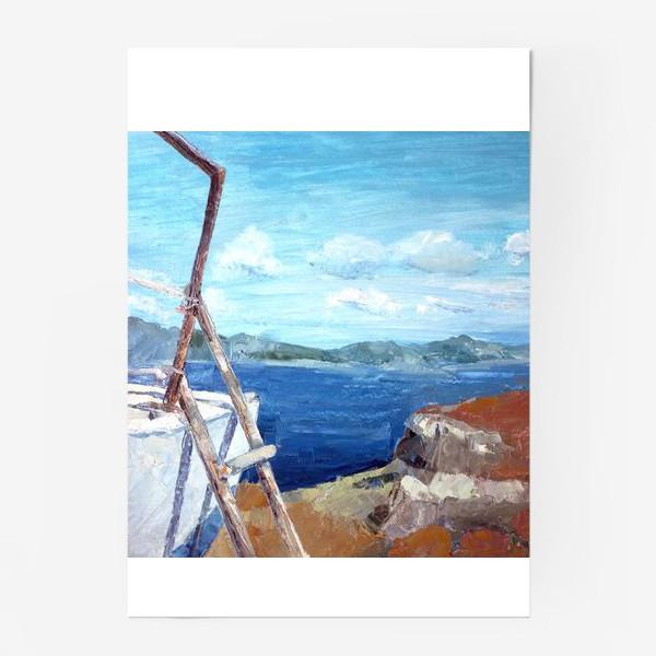 Постер «Море. Горы. Крит»