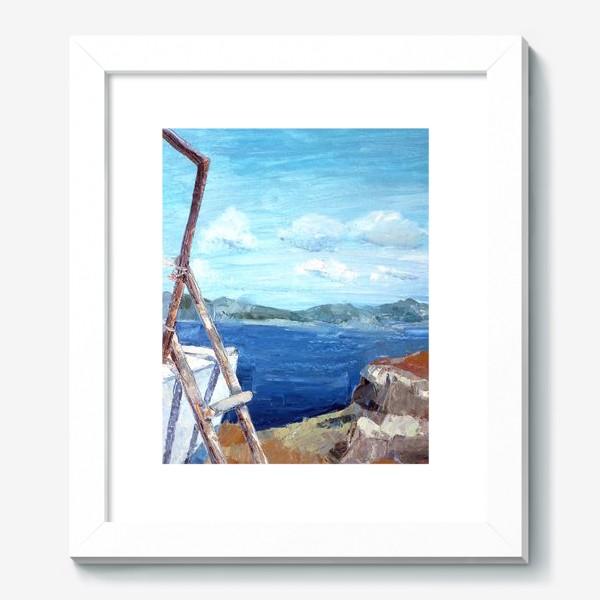 Картина «Море. Горы. Крит»