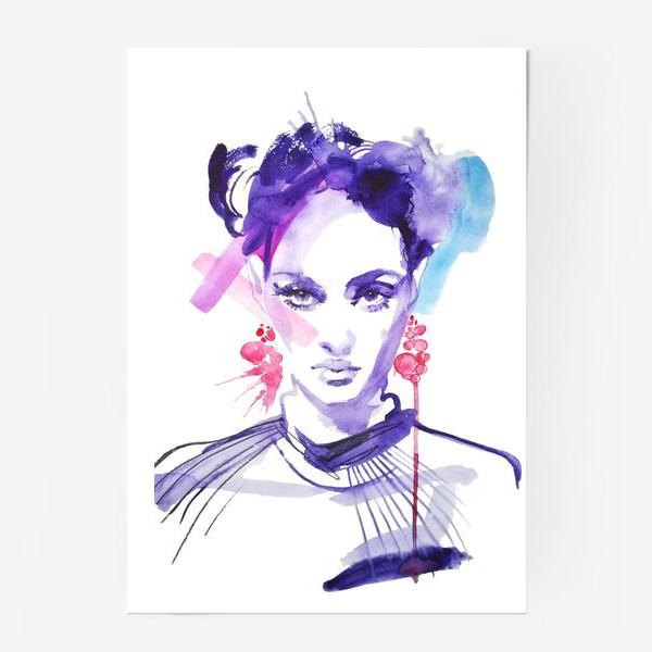 Постер «Серьги»