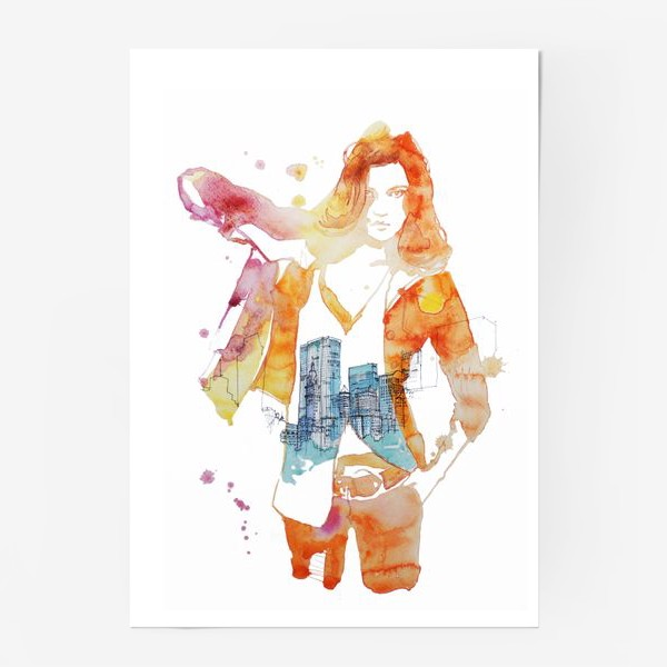 Постер «NY»