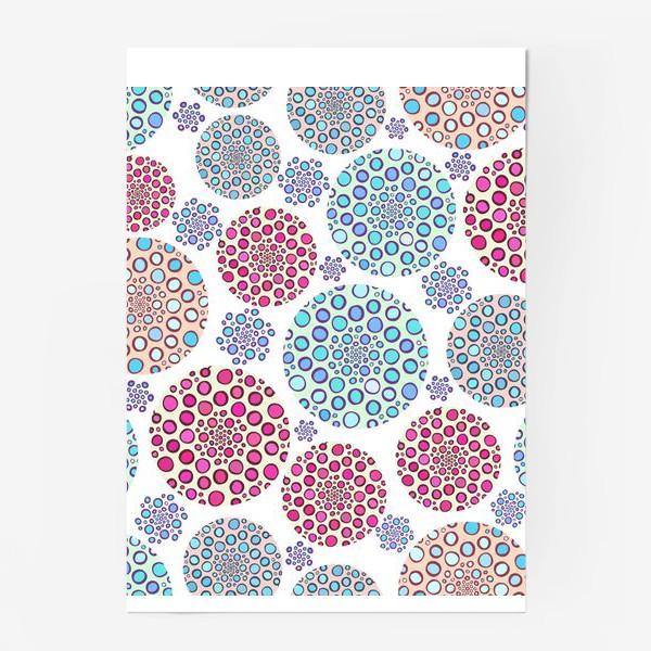 Постер «Драгоценные пузырьки »