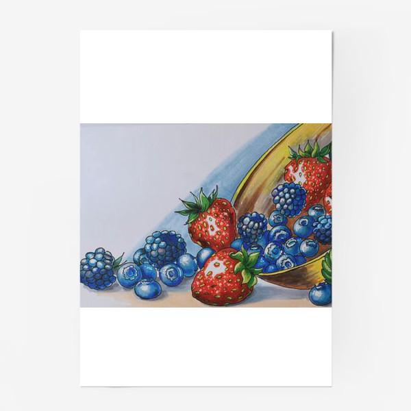 Постер «фрукты»