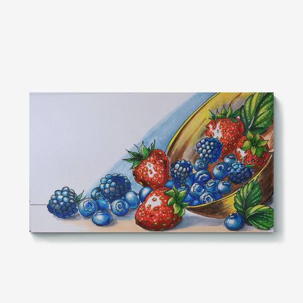 Холст «фрукты»