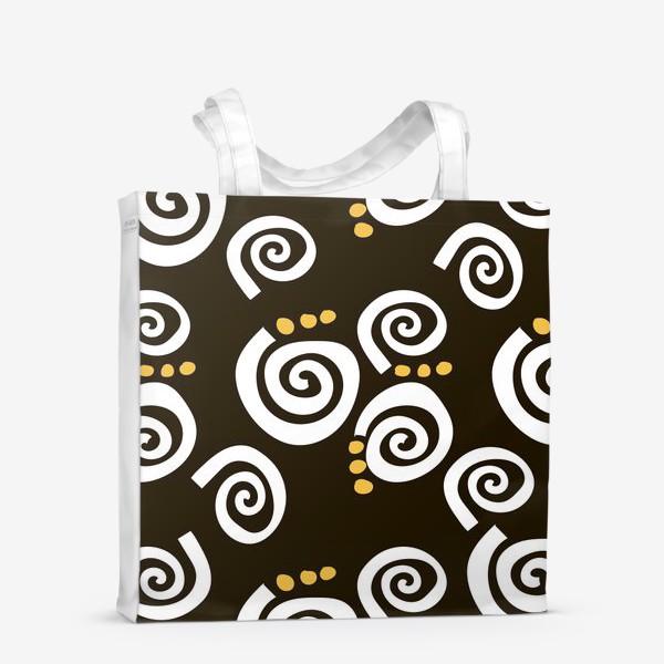 Сумка-шоппер «Spirals Black»
