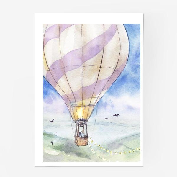 Постер «Воздушный шар»