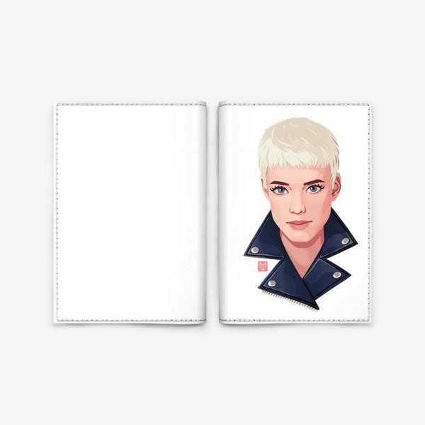 Обложка для паспорта «Агнесс Дейн»