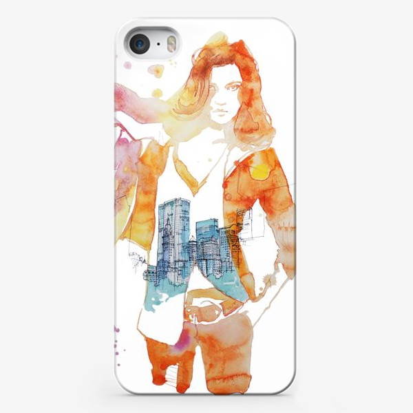 Чехол iPhone «NY»