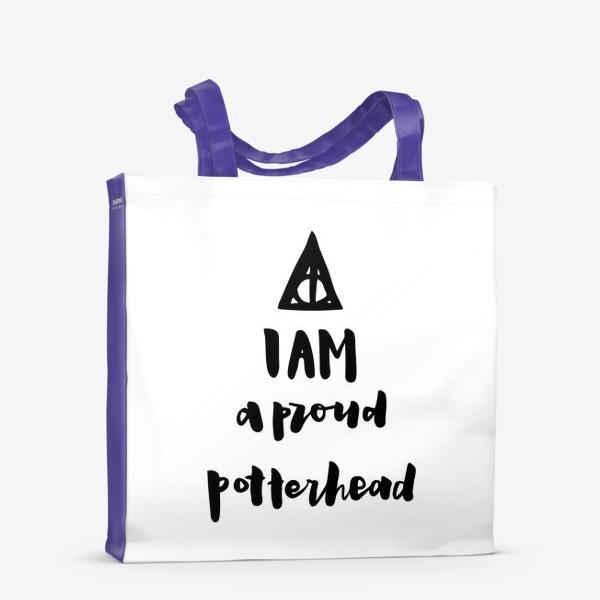 Сумка-шоппер «Типичный Поттерхэд. Дары Смерти.»